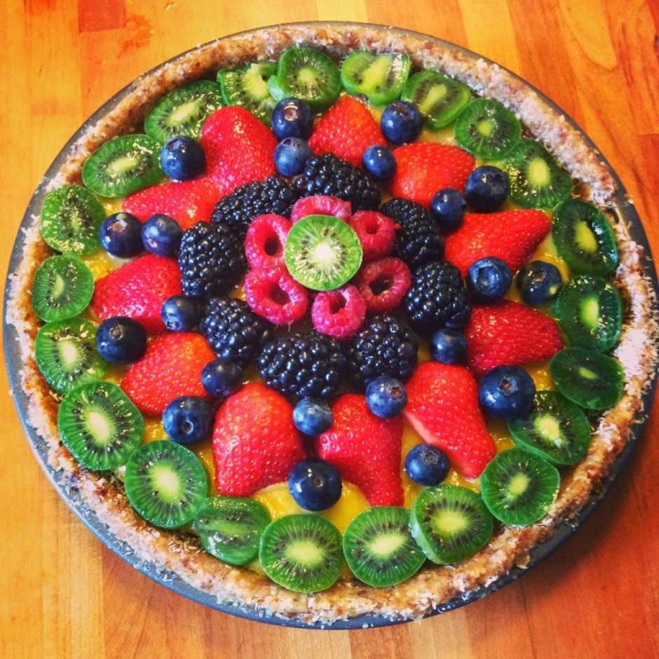 Can you help me write a speech on how to make a fruit tart?
